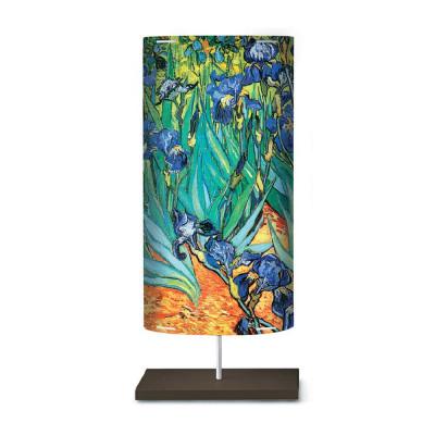 Artempo - Castor and Pollux - Artempo Castor e Pollux Serie 900' TL L  Nachttischlampe - Van Gogh - Iris  - LS-AT-845