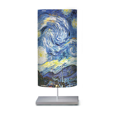 Artempo - Castor and Pollux - Artempo Castor e Pollux Serie 900' TL L  Nachttischlampe - Van Gogh Starry Night  - LS-AT-822