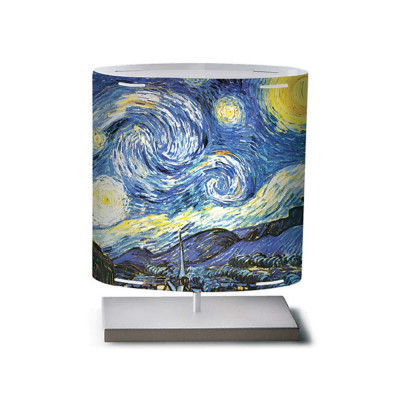 Artempo - Castor and Pollux - Artempo Castor e Pollux Serie 900' TL S Design Tischlampe - Van Gogh Starry Night  - LS-AT-422