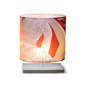 Artempo - Castor and Pollux - Artempo Castor e Pollux Serie Classic TL S Klassische Nachttischlampe - Eros e Psiche  - LS-AT-403