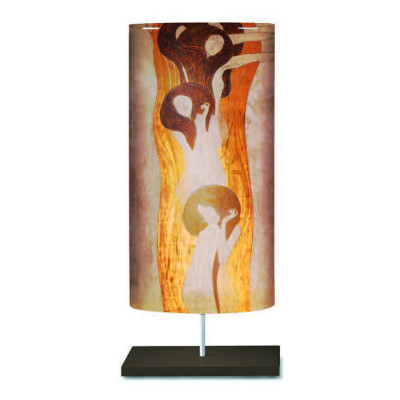 Artempo - Castor and Pollux - Artempo Castor e Pollux Serie Klimt TL L Moderne Nachttischlampe - Beethoven Fries  - LS-AT-866