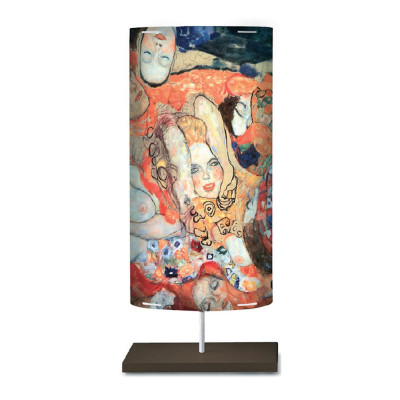 Artempo - Castor and Pollux - Artempo Castor e Pollux Serie Klimt TL L Moderne Nachttischlampe - Braut  - LS-AT-848