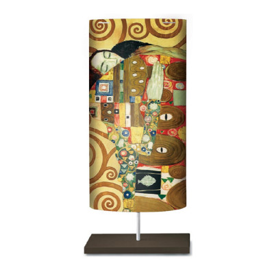Artempo - Castor and Pollux - Artempo Castor e Pollux Serie Klimt TL L Moderne Nachttischlampe - The Embrace  - LS-AT-868