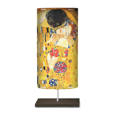 Artempo - Castor and Pollux - Artempo Castor e Pollux Serie Klimt TL L Moderne Nachttischlampe - The Kiss  - LS-AT-821