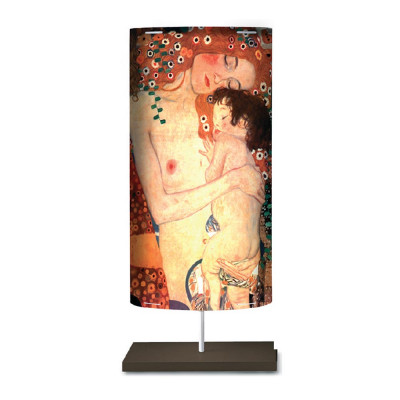 Artempo - Castor and Pollux - Artempo Castor e Pollux Serie Klimt TL L Moderne Nachttischlampe - The Three Age of Life  - LS-AT-860