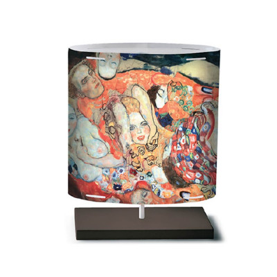 Artempo - Castor and Pollux - Artempo Castor e Pollux Serie Klimt TL S Moderne Tischlampe - Braut  - LS-AT-448