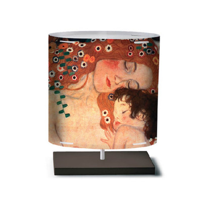 Artempo - Castor and Pollux - Artempo Castor e Pollux Serie Klimt TL S Moderne Tischlampe - The Three Age of Life  - LS-AT-460