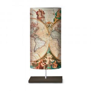 Artempo - Castor and Pollux - Artempo Castor e Pollux Serie Print TL L Design Nachtischlampe