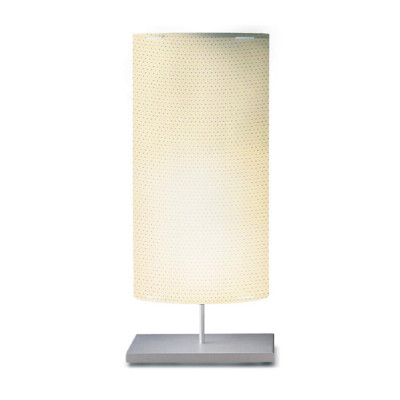 Artempo - Castor and Pollux - Artempo Castor e Pollux Serie Print TL L Design Nachtischlampe - Mikro perforiert - Ivory - LS-AT-864