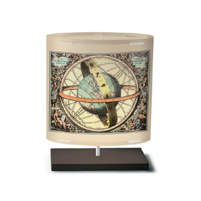 Artempo - Castor and Pollux - Artempo Castor e Pollux Serie Print TL S Tischlampe - Globe 3 - LS-AT-411