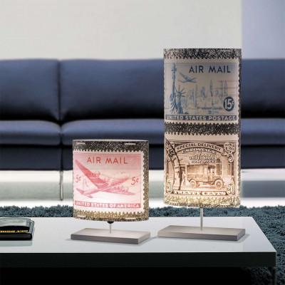 Artempo - Castor and Pollux - Artempo Castor e Pollux Serie Stamps TL L Vintage Tischlampe