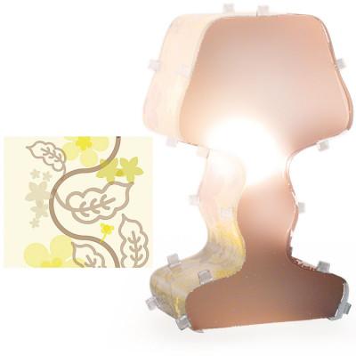 Artempo - Fancy - Artempo Fancy TL Moderne Tischlampe - Gedruckt Grün Acrilux - LS-AT-380-V
