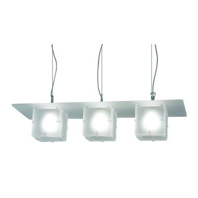 Artempo - Ghost - Artempo Ghost SP Hängelampe mit drei Leuchten - Weiß satiniert - LS-AT-639-BS