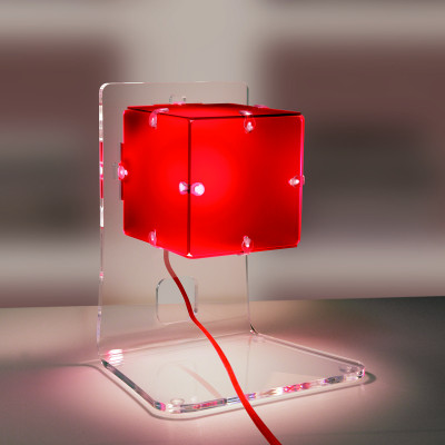 Artempo - Ghost - Artempo Lola TL Farbige Tischlampe - Rot - LS-AT-370-R