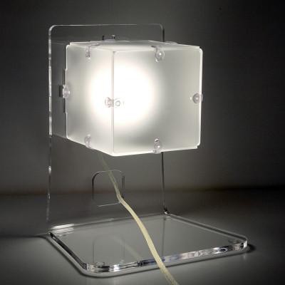 Artempo - Ghost - Artempo Lola TL Farbige Tischlampe - Weiß satiniert - LS-AT-370-BS