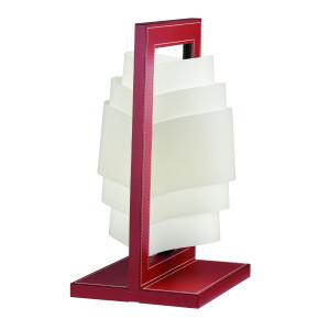 Artempo - Hermes - Artempo Hermes TL Design Tischlampe - Bulgarische Rote Leder - LS-AT-020-RB