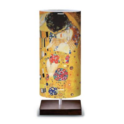 Artempo - Idra - Artempo Idra Serie Klimt TL Moderne Tischlampe - The Kiss  - LS-AT-522