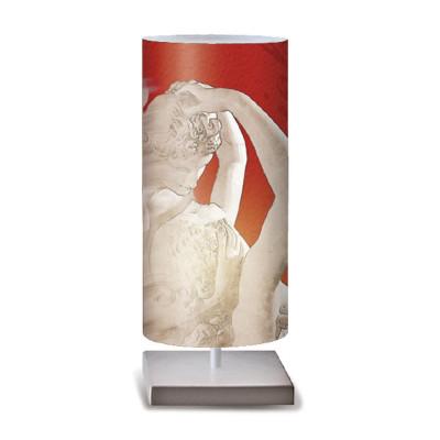 Artempo - Idra - Artempo Idra Serie Print TL Dekorierte tischlampe - Eros e Psiche  - LS-AT-503