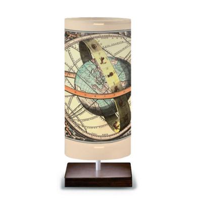 Artempo - Idra - Artempo Idra Serie Print TL Dekorierte tischlampe - Globe  - LS-AT-509