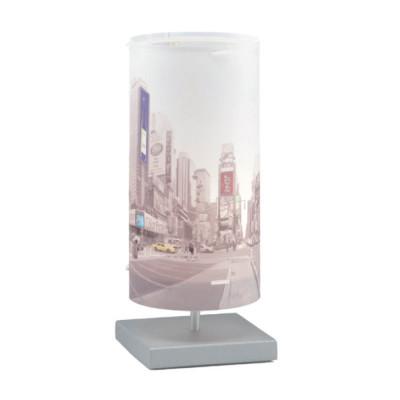 Artempo - Idra - Artempo Idra Serie Print TL Dekorierte tischlampe - Metropolis - LS-AT-595