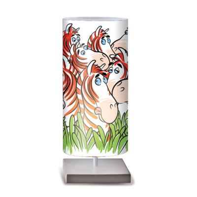 Artempo - Idra - Artempo Idra Serie Print TL Dekorierte tischlampe - Zebras Dekoration - LS-AT-505