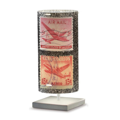 Artempo - Idra - Artempo Idra Serie Stamps TL Tischlampe - Briefmarken dekoriert 7 - LS-AT-513