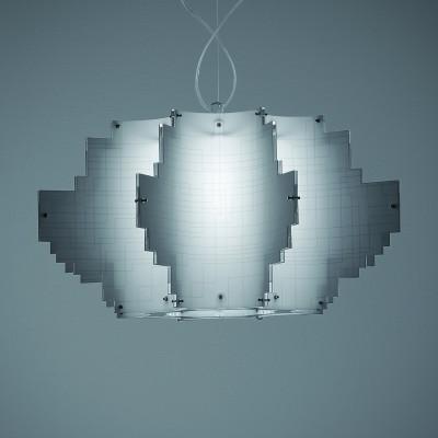Artempo - Pendant lamps in Acrilux - Artempo Nuvola SP Küche Pendellampe - Acrilux und Polilux Weiß - LS-AT-106-B