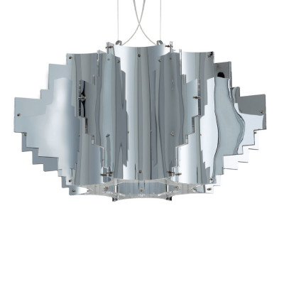 Artempo - Pendant lamps in Acrilux - Artempo Nuvola SP Küche Pendellampe - Metalux chromt - LS-AT-106-C