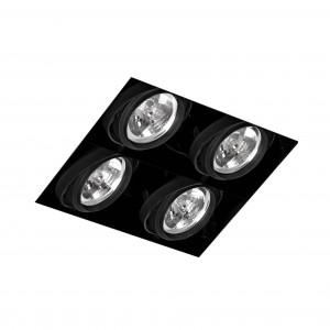 Faro - Indoor - Gingko - Gingko S 4L WF - Frameless Einbaulampe mit 4 Leuchten