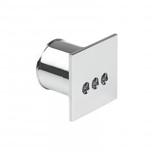 i-LèD - Wall - Romin - Wandeinbaustrahler Romim-Q3 - 5mmLED 0.5 W 24 V