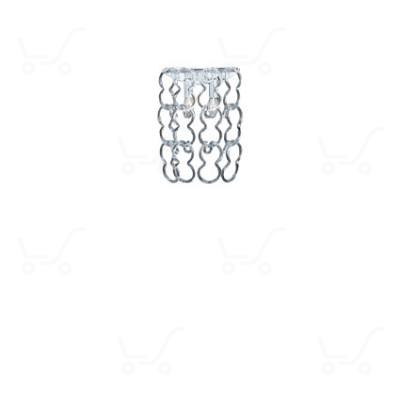 Ideal Lux - Alba - ALBA AP2 - Wandlampe - Chrom - LS-IL-020372
