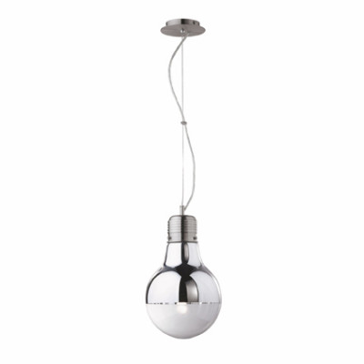 Ideal Lux - Bulb - Ideal Lux Luce SP1 Cromo SMALL - Chrom - LS-IL-026732