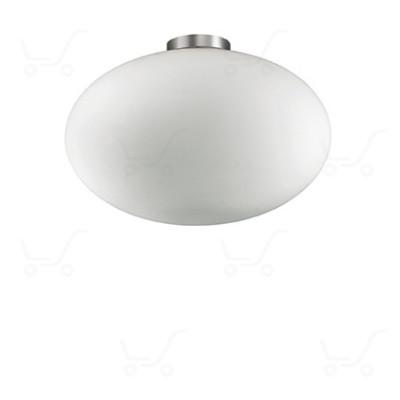 Ideal Lux - Candy - Candy PL1 D40 - Deckenlampe mit Glas-Diffusor - Weiß - LS-IL-086781