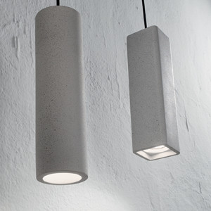 Ideal Lux - Cemento - Oak SP1 Square - Pendelleuchte