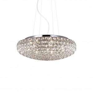 Ideal Lux - Diamonds - King SP7 - Elegante Pendellampe mit Kristallen
