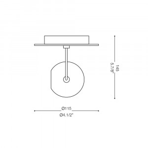 Ideal Lux - Direction - Ideal Lux Lunare AP1