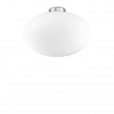 Ideal Lux - Eclisse - Candy PL1 D40 - Deckenlampe mit Glas-Diffusor - Weiß - LS-IL-086781