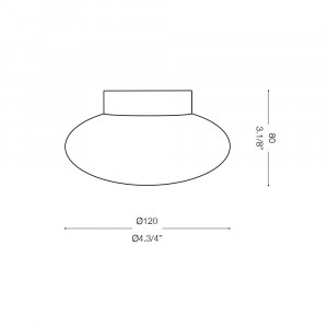 Ideal Lux - Eclisse - Ideal Lux Smarties AP1 - Wandlampe