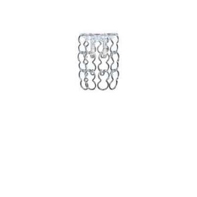 Ideal Lux - Glass - ALBA AP2 - Wandlampe - Chrom - LS-IL-020372