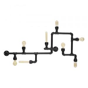 Ideal Lux - Industrial - Plumber PL8 - Deckenlampe