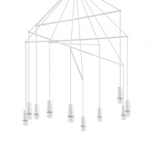 Ideal Lux - Industrial - Pop SP10 - Pendelleuchte