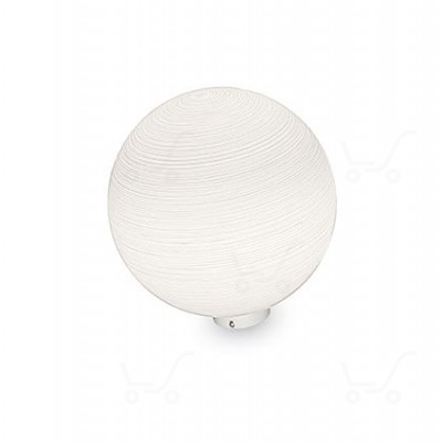 Ideal Lux - Mapa - Ideal Lux Mapa TL1 D20 - Weiße Streifen Dekoration - LS-IL-161433