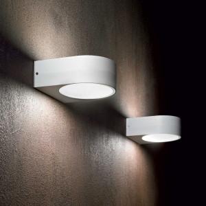 Ideal Lux - Outdoor - Iko AP1 - Moderne Wandlampe mit doppeltem Diffusor
