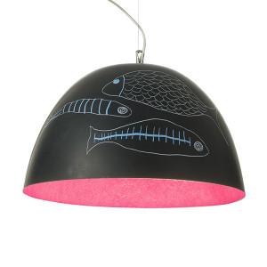 In-es.artdesign - H2O - H2O Lavagna SP - Kuppelförmiger Design Kronleuchter