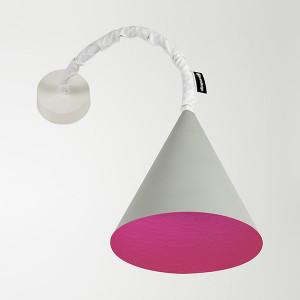 In-es.artdesign - Jazz Stripe - Jazz A Cemento AP - Farbige Wandlampe