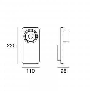 Linea Light - Applique - Beebo PL - Designlampe
