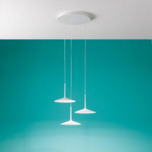 Linea Light - Poe - Poe P3 PL LED - Moderner Kronleuchter mit drei Leuchten