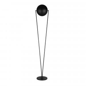 Lumen Center - Classic collection - Victory Led PT - Designer Bodenlampe mit Lichtintensität-Dimmer  - Matt-schwarz - LS-LC-VICT102L