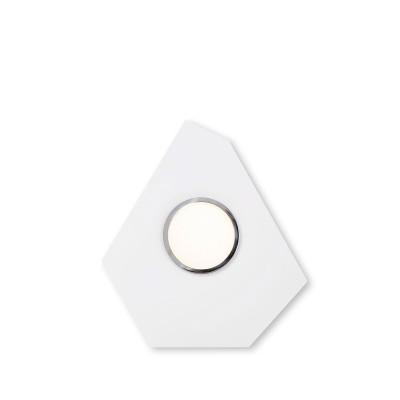 Lumen Center - Domino - Domino PL - Design LED-Deckenleuchte für Zusammensetzungen - Feinstruktur weiß - LS-LC-DOM105