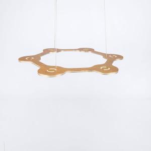 Lumen Center - Flat - Flat Ring 6 SP - Moderne Pendelleuchte mit sechs Lichtpunkten